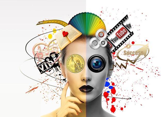 abstraktní virtuální obličej