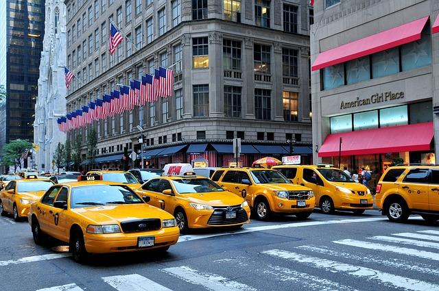 ulice na Manhattanu