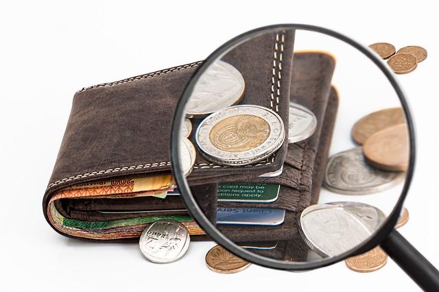 kreditní karta peníze
