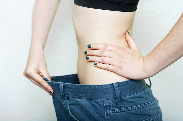 kalhoty po zhubnutí