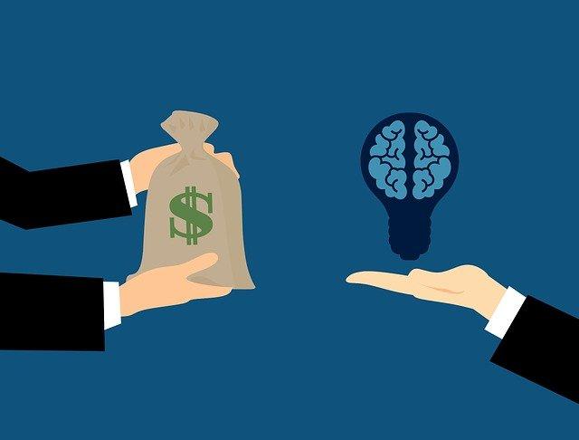 podnikatelský plán, kdy podnikatel zaplatí někomu za nápad