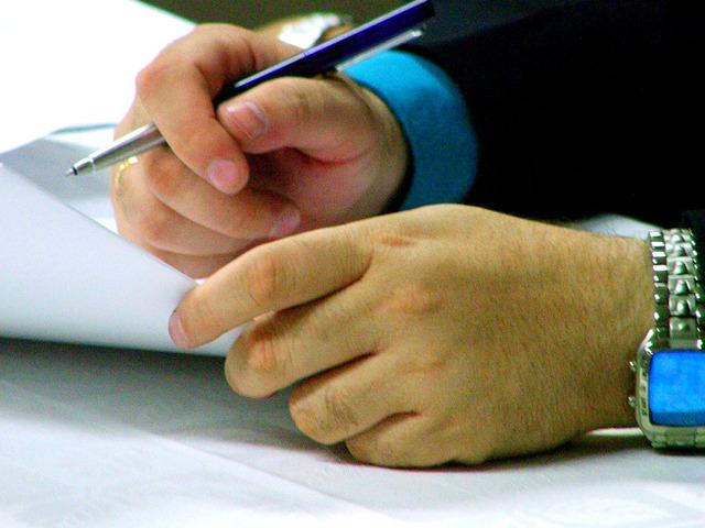 podpisy smlouvy