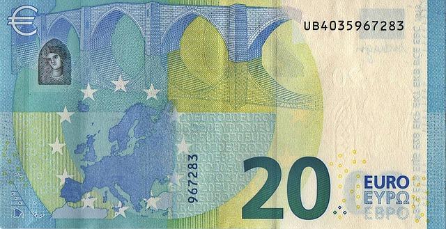 bankovka 20 euro