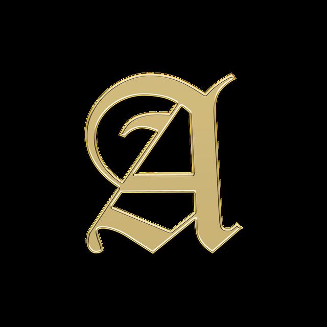 Monogram-písmeno A