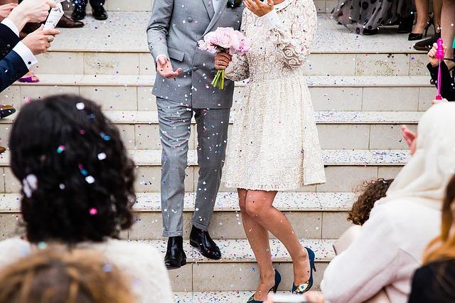 Radost novomanželů