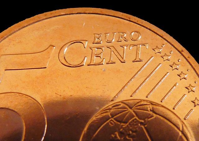 detail euro centu