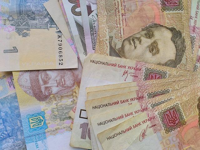 ukrajinské bankovky