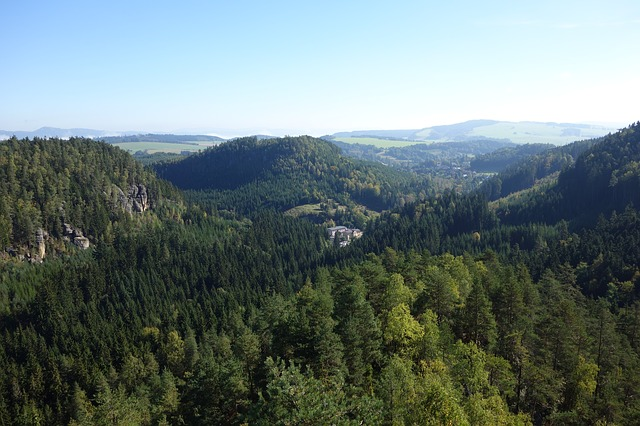 Krajina kolem Adršpachu