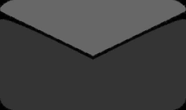 nakreslená obálka