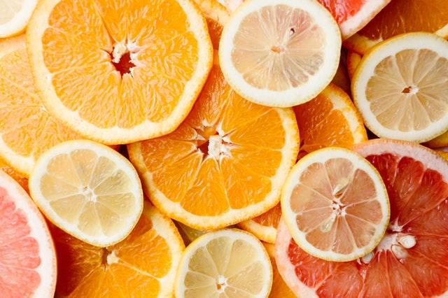 citrusy, vitamíny