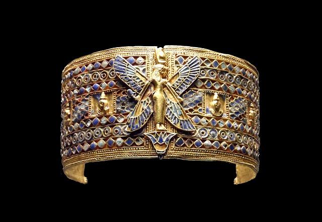 historický šperk z Egypta
